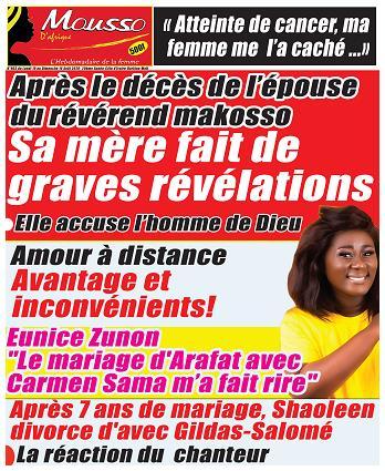 MOUSSO D'AFRIQUE