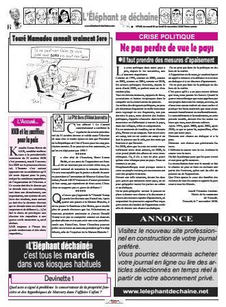 L'ÉLÉPHANT DÉCHAINÉ