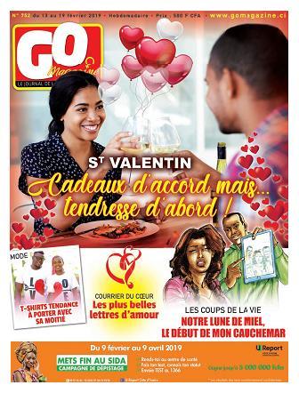 Couverture du Journal GO MAGAZINE N° 752 du 13/02/2019