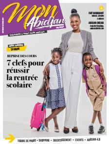 Couverture du Journal MON ABIDJAN N° 4 du 15/09/2018