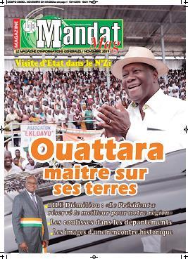 Couverture du Journal LE MANDAT MAG N° 3 du 07/01/2020