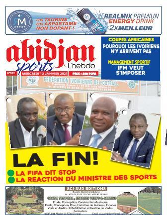 Couverture du Journal Abidjan Sports N° 32 du 13/01/2021