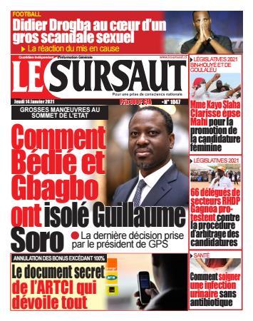 Couverture du Journal LE SURSAUT N° 1047 du 14/01/2021