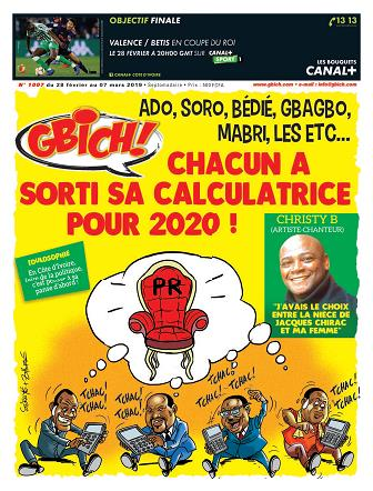 Couverture du Journal GBICH N° 1007 du 01/03/2019