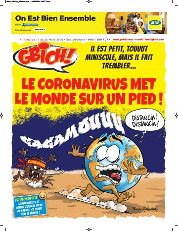 Couverture du Journal GBICH N° 1062 du 21/03/2020