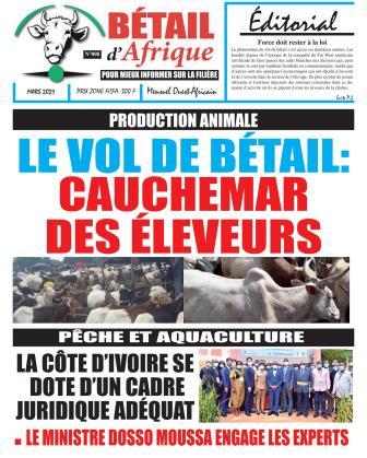 Couverture du Journal BÉTAIL D'AFRIQUE N° 8 du 01/03/2021