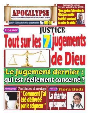 Couverture du Journal APOCALYSE N° 77 du 02/04/2019