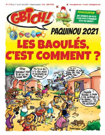 Couverture du Journal GBICH N° 1115 du 02/04/2021