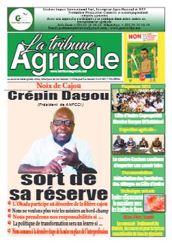 Couverture du Journal La Tribune Agricole N° 19 du 08/04/2021