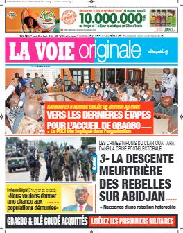 Couverture du Journal LA VOIE ORIGINALE N° 501 du 03/05/2021