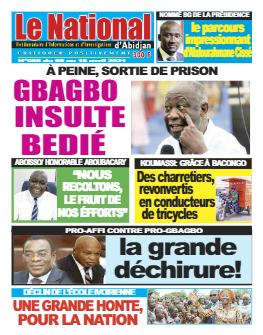 Couverture du Journal Le Nationnal N° 6 du 07/04/2021