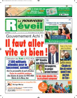 Couverture du Journal LE NOUVEAU RÉVEIL N° 5732 du 08/04/2021