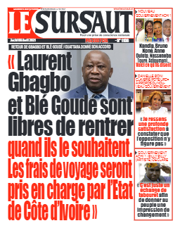 Couverture du Journal LE SURSAUT N° 1106 du 08/04/2021