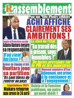 Couverture du Journal LE RASSEMBLEMENT N° 684 du 08/04/2021