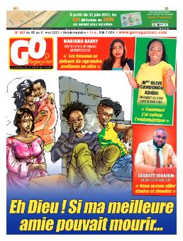 Couverture du Journal GO MAGAZINE N° 867 du 06/05/2021