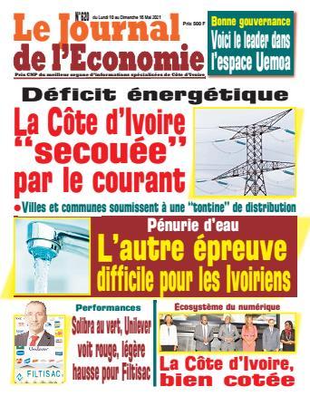 Couverture du Journal LE JOURNAL DE L'ÉCONOMIE N° 620 du 09/05/2021