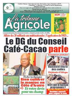 Couverture du Journal La Tribune Agricole N° 23 du 07/05/2021