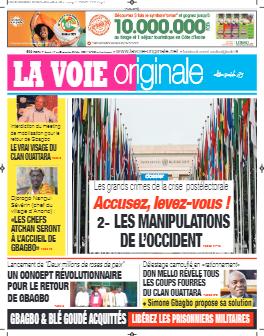 Couverture du Journal LA VOIE ORIGINALE N° 503 du 17/05/2021