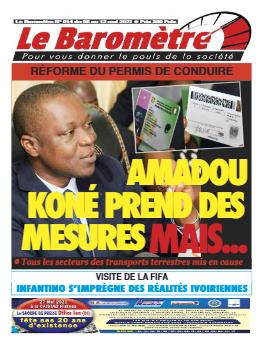 Couverture du Journal LE BAROMETRE N° 14 du 06/05/2021
