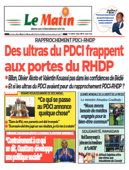 Couverture du Journal LE MATIN N° 532 du 04/05/2021