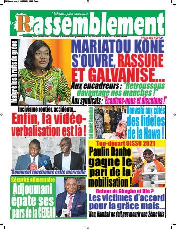 Couverture du Journal LE RASSEMBLEMENT N° 708 du 11/05/2021