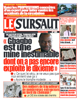 Couverture du Journal LE SURSAUT N° 1124 du 04/05/2021