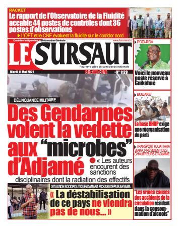 Couverture du Journal LE SURSAUT N° 1130 du 11/05/2021