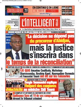 Couverture du Journal L'INTELLIGENT D'ABIDJAN N° 4835 du 04/05/2021