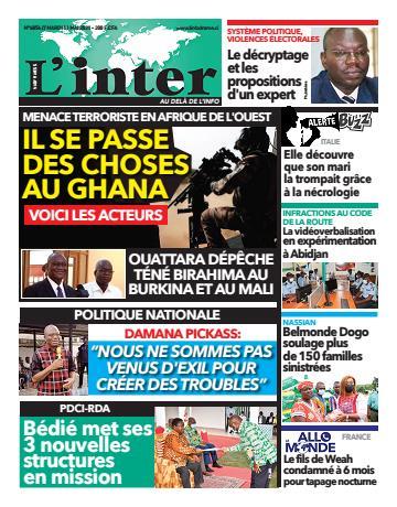 Couverture du Journal L'INTER N° 6856 du 11/05/2021