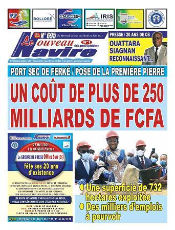 Couverture du Journal LE NOUVEAU NAVIRE N° 695 du 26/05/2021
