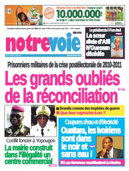 Couverture du Journal NOTRE VOIE N° 6614 du 04/05/2021