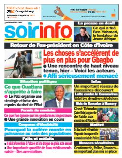 Couverture du Journal SOIR INFO N° 7960 du 04/05/2021