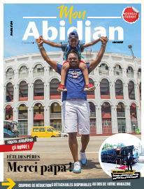 Couverture du Journal MON ABIDJAN N° 8 du 15/06/2019