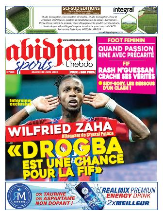 Couverture du Journal Abidjan Sports N° 4 du 30/06/2020