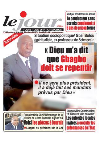 Couverture du Journal LE JOUR PLUS N° 4357 du 10/06/2020