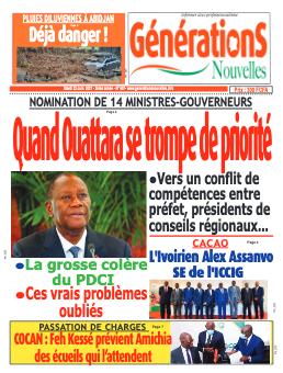 Couverture du Journal Générations nouvelles N° 688 du 22/06/2021