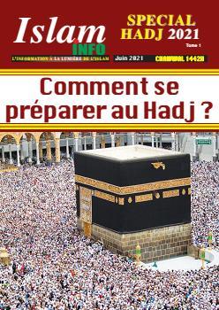 Couverture du Journal ISLAM INFO N° 1 du 07/06/2021