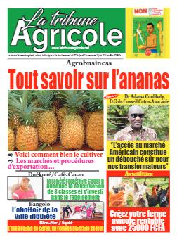 Couverture du Journal La Tribune Agricole N° 27 du 05/06/2021