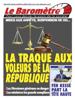 Couverture du Journal LE BAROMETRE N° 22 du 01/07/2021