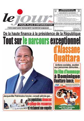Couverture du Journal LE JOUR PLUS N° 4620 du 11/06/2021