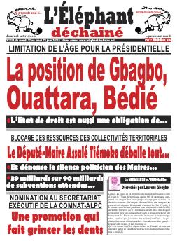 Couverture du Journal L'ÉLÉPHANT DÉCHAINÉ N° 713 du 22/06/2021
