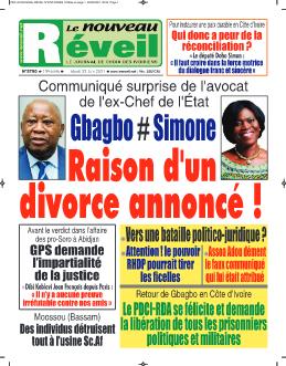 Couverture du Journal LE NOUVEAU RÉVEIL N° 5791 du 22/06/2021