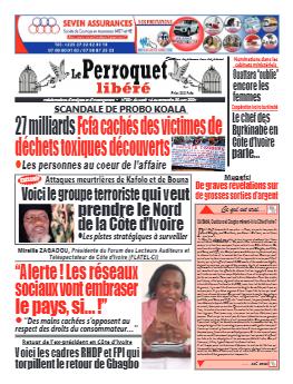 Couverture du Journal LE PERROQUET LIBERE N° 1 du 15/06/2021