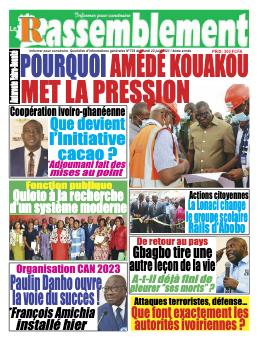 Couverture du Journal LE RASSEMBLEMENT N° 733 du 22/06/2021