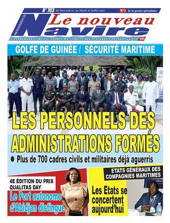 Couverture du Journal LE NOUVEAU NAVIRE N° 703 du 21/07/2021