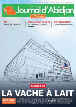 Couverture du Journal Journal d'Abidjan N° 261 du 09/07/2021