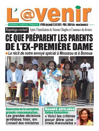 Couverture du Journal L'AVENIR N° 90 du 22/07/2021