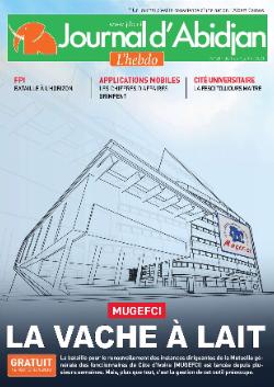Couverture du Journal Journal d'Abidjan N° 261 du 02/07/2021