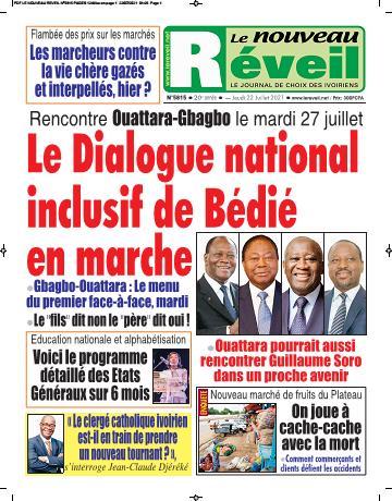 Couverture du Journal LE NOUVEAU RÉVEIL N° 5815 du 22/07/2021
