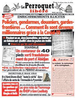 Couverture du Journal LE PERROQUET LIBERE N° 5 du 12/07/2021